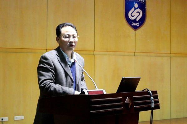 鹿山学院召开2015-2016学年第一学期全体教职工大会